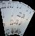 Ukázka rytmických karet